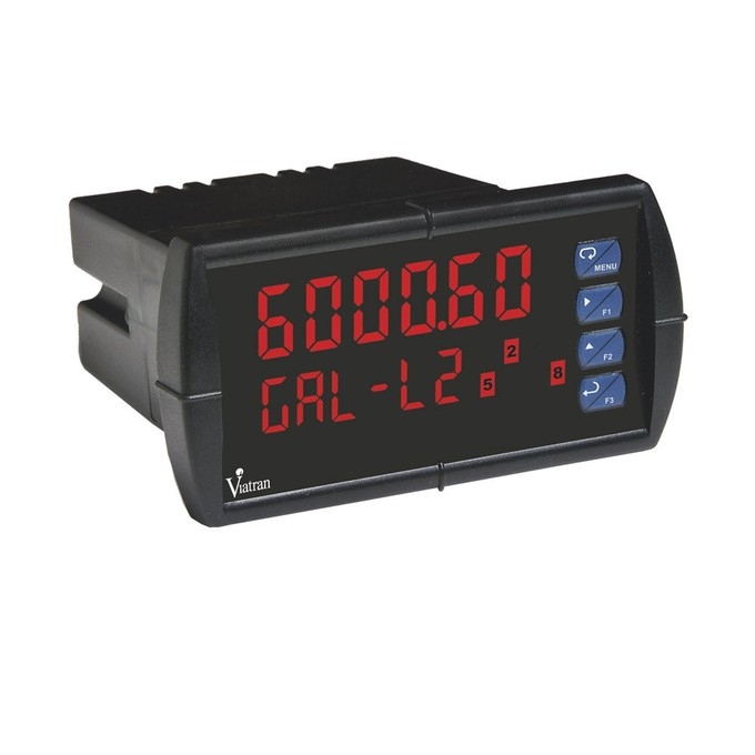 "<p>The DL's large 0.6"" upper display provides a highly accurate and precise 6-digit view of the process measurement. Its 24-bit A/D is accurate to ±0.03% of calibrated span ±1 count.</p>"