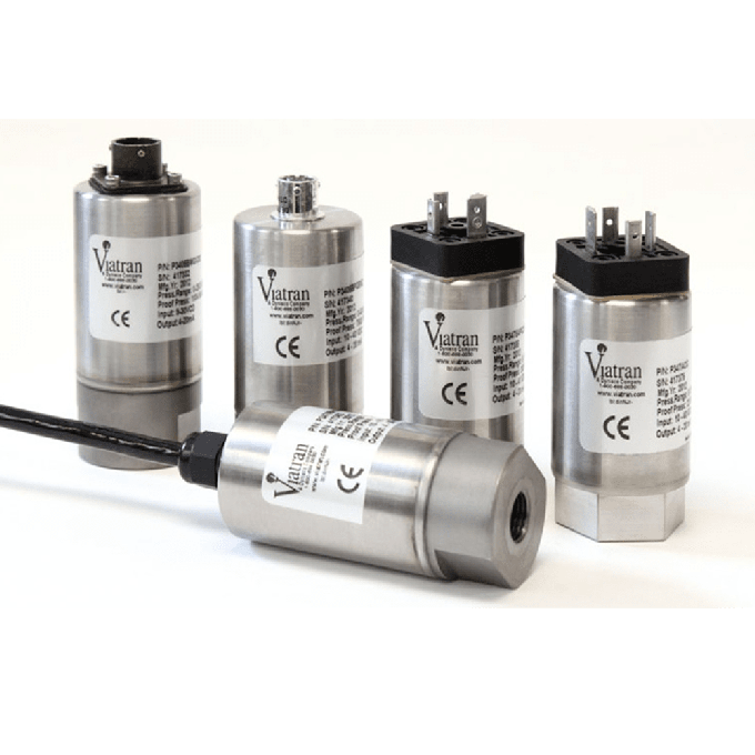 <p>Viatran multipurpose pressure transmitters/transducers fulfill the need for many applications where a higher accuracy pressure sensor is not a requirement and no special fittings are needed. They are used in a variety of industries from <a href=