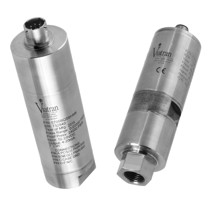 <p>These&nbsp;High Pressure Transmitters have been designed to meet your most demanding application. Contact a Viatran Applications Engineer for assistance with selecting the product best suited for your&nbsp;process.</p>